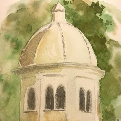 Cupola e tiburio dell'abbazia di S. Fruttuoso