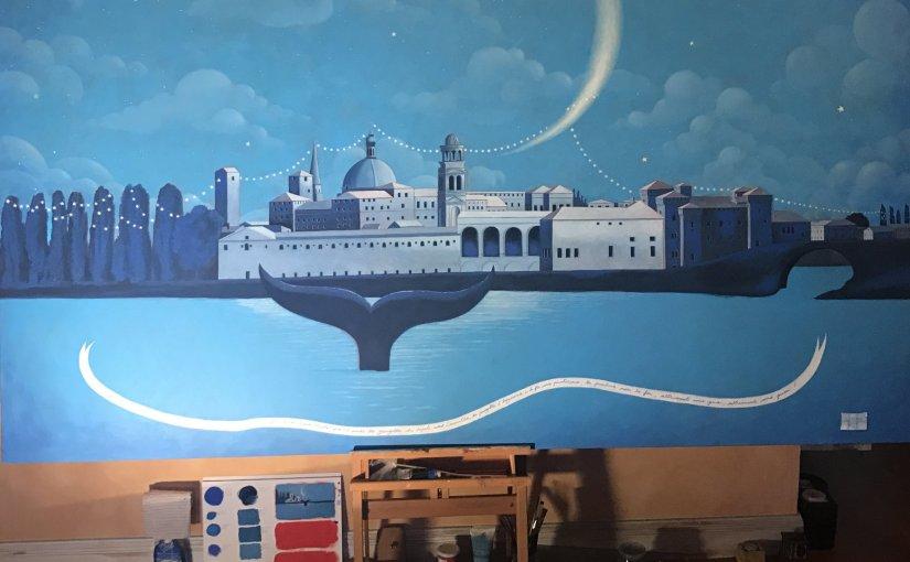 Mantova in blu
